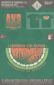 Lambda Chi Alpha Shirt Designs Lambda Chi Alpha Watermelon Bust 2017 Buonyou Greek