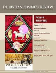 Christian Business Review August 2014 By Houston Baptist