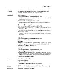 Job Objective For A Resume Civil Service Resumes Career Examples ...