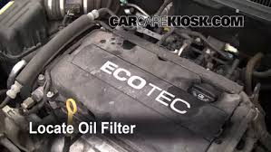 oil filter change chevrolet aveo 2004 2011 2009 chevrolet 5 oil filter