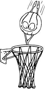 Coloriage Panier Basketball Imprimer Sur Coloriages Info Coloriage