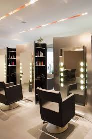 beauty salon lighting. small ideas for hair salon interior design with recessed lighting and modern chairs beauty