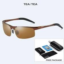 <b>Men Polarized Sunglasses Military</b> Goggles <b>Aluminum</b> Magnesium ...