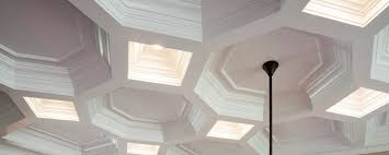 coffered ceiling framing