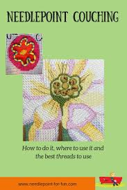 Fun Threads Designs A Needlepoint Couching Tutorial Easy To Learn And Fun For