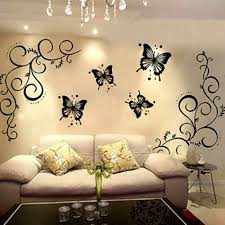 Small Picture Collection of 7 Diy Butterfly Pattern Wall Decor Design House