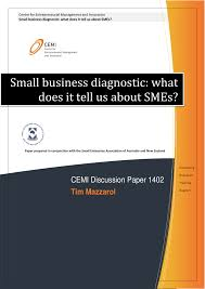 small business diagnostic what does it tell us about smes pdf small business diagnostic what does it tell us about smes pdf available