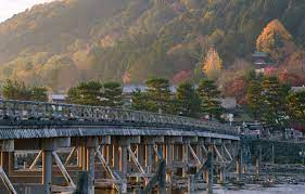 Wallpaper Nature, Bridge, River, Japan ...