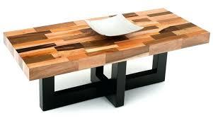 modern wood coffee table designs photo 9
