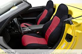 c6 corvette coverking custom seat covers neoprene pair