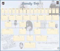 Ancestors Professional Genealogy Service Family Tree Wallchart
