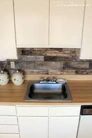 Cheap Barnboard Diy Rustic Kitchen Backsplash. I have been seriously  considering making this my backsplash