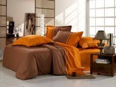 Однотонное <b>Комплект постельного белья</b> из сатина <b>od10</b>