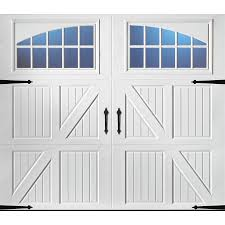 garage doors with windows. Display Product Reviews For Carriage House 96-in X 84-in White Single Garage Doors With Windows