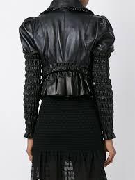 alexander mcqueen ruched panel jacket women clothing alexander mcqueen bags david jones innovative design