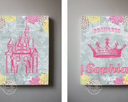 toddler young princess wall art canvas girl castles colourful gorgeous personal child name luxurious flowers on toddler canvas wall art with wall art design ideas toddler young princess wall art canvas girl
