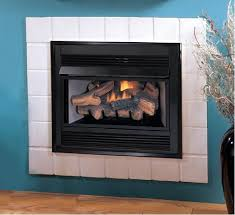 vci3032 superior vent free gas fireplace insert with logs remote ready thermostat blower