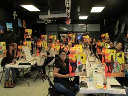 painting cl las vegas fost wine and canvas
