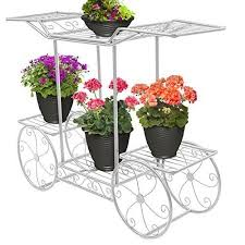 Flower Display Stand For Sale Sorbus Garden Cart Stand Flower Pot Plant Holder Display Rack 100 84