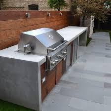 built in bbq. Barbecue Fixe Fonctionnel Et Esthétique Dans Le Jardin Moderne Built In Bbq R