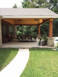 attached covered patio ideas. Backyard Paradise - Magnolia, TX, United States. Gable Roof Patio Cover  Attached\u2026 Attached Covered Ideas P