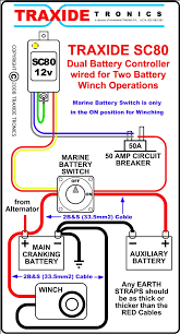winch nd battery isolation necessary xearth in the diagram simply substitute the sc80 your isolator