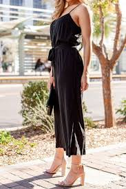 Audrey Black Jumpsuit - ShopperBoard