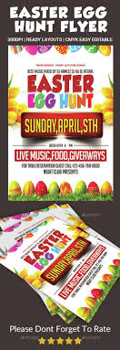 Easter Egg Hunt Flyer | Flyer Template, Easter And Egg