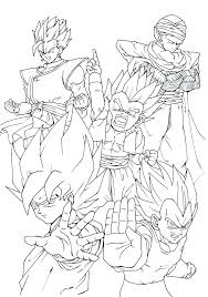 vegeta coloring pages dragon ball z coloring pages sheets super dragon ball z coloring pages baby