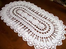 Free Crochet Table Runner Patterns Beauteous Table Runner NEW 48 FREE DOILY TABLE RUNNER PATTERNS