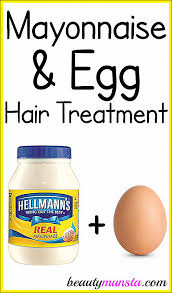 diy hair mask for dry scalp mayonnaise and egg treatment for hair beautymunsta free natural of