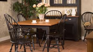 new england windsor dining room for amish sets idea 14