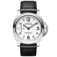 officine panerai watches at berry s jewellers luminor marina 8 days acciaio white dial men s strap watch
