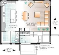 Small Picture House plan W3320 detail from DrummondHousePlanscom