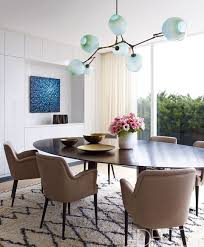 modern house interior dining room. Modren House U003cpu003eA Set Of 1954 Chairs By Osvaldo Borsani Surrounds The Custommade In Modern House Interior Dining Room I