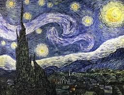 Starry Night Painting by Wei Jin Chong | Saatchi Art