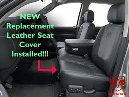 2005 dodge ram laramie driver side bottom replacement leather with 2002 dodge ram 1500 seat