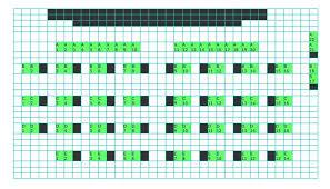 Waitress Seating Chart Seating Chart Lexington Village Theatre