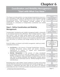 Chapter 6 Coordination And Mobility Management Start With