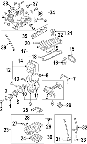 parts com® hyundai lower oil pan partnumber 2151023700 2011 hyundai elantra touring se l4 2 0 liter gas engine parts