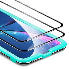 <b>Tempered Glass Full</b>-Coverage <b>Screen</b> Protector for iPhone 11 ...