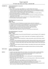 Download Senior / Product Analyst Resume Sample as Image file
