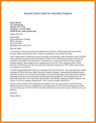 How To Write Cover Letter For Internship Program In Malaysia