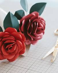 Rose Paper Flower Making Paper Flower Making Workshop By Evermore Flower