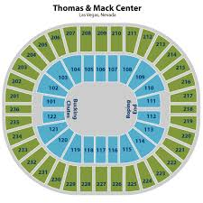 Thomas And Mack Center Rodeo Seating Chart Thomas And Mack Center Rodeo 5138 Gem Hospitality