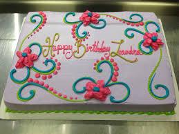 Scrolls And Flowers Girly Birthday Cake Cakes I Made Cake Girly