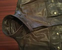 rare belstaff made in italy gold label distressed leather jacket brown men s m l belstaff motorcycle