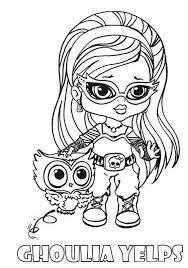 Small Picture Monster Girl Coloring Pages Coloring Pages