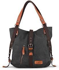 SHANGRI-LA Purse Handbag for <b>Women</b> Canvas <b>Tote Bag Casual</b>