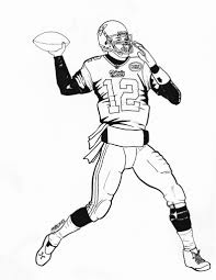 Small Picture Patriots Coloring Page New Pages Football itgodme